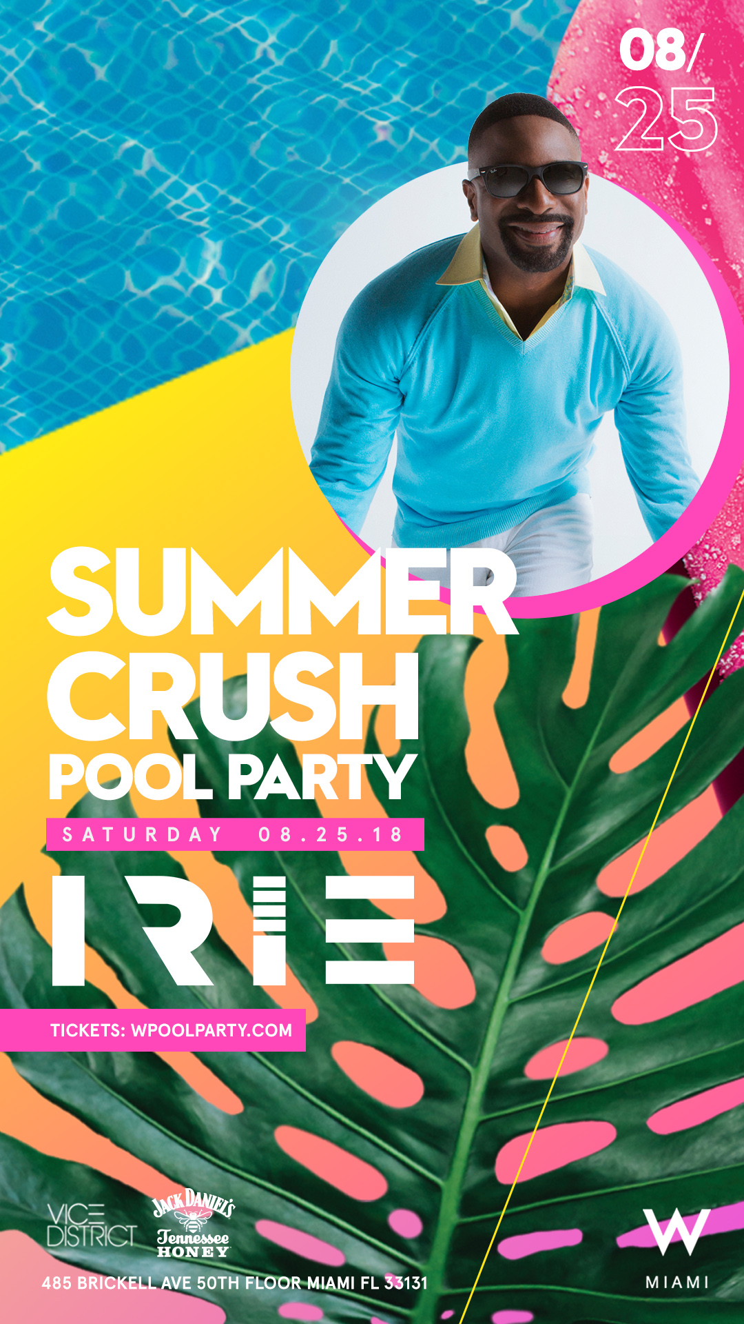 W Hotel Pool Party